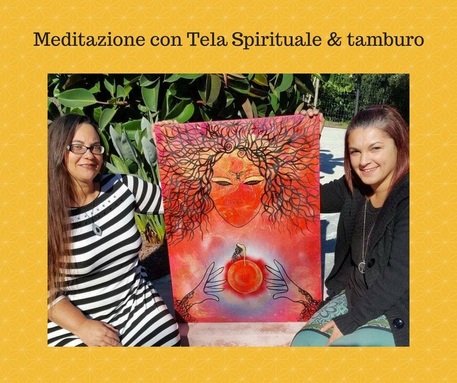 Meditazione con Tela Spirituale & tamburo