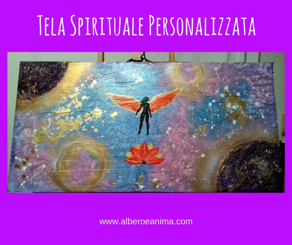Consegna di un'altra Tela Spirituale Personalizzata :-)