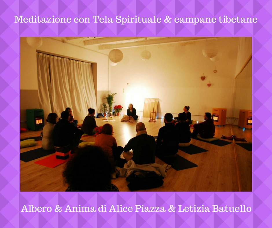 Meditazione con Tela Spirituale & campane tibetane