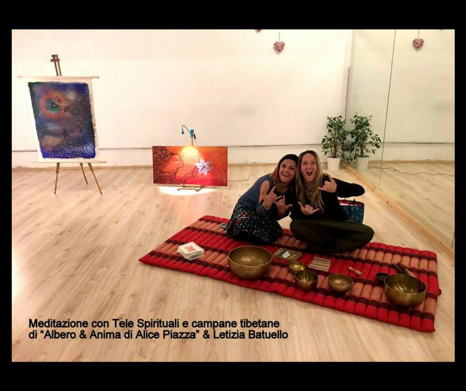 Ultima Meditazione prima dell'estate, con Tele Spirituali e campane tibetane