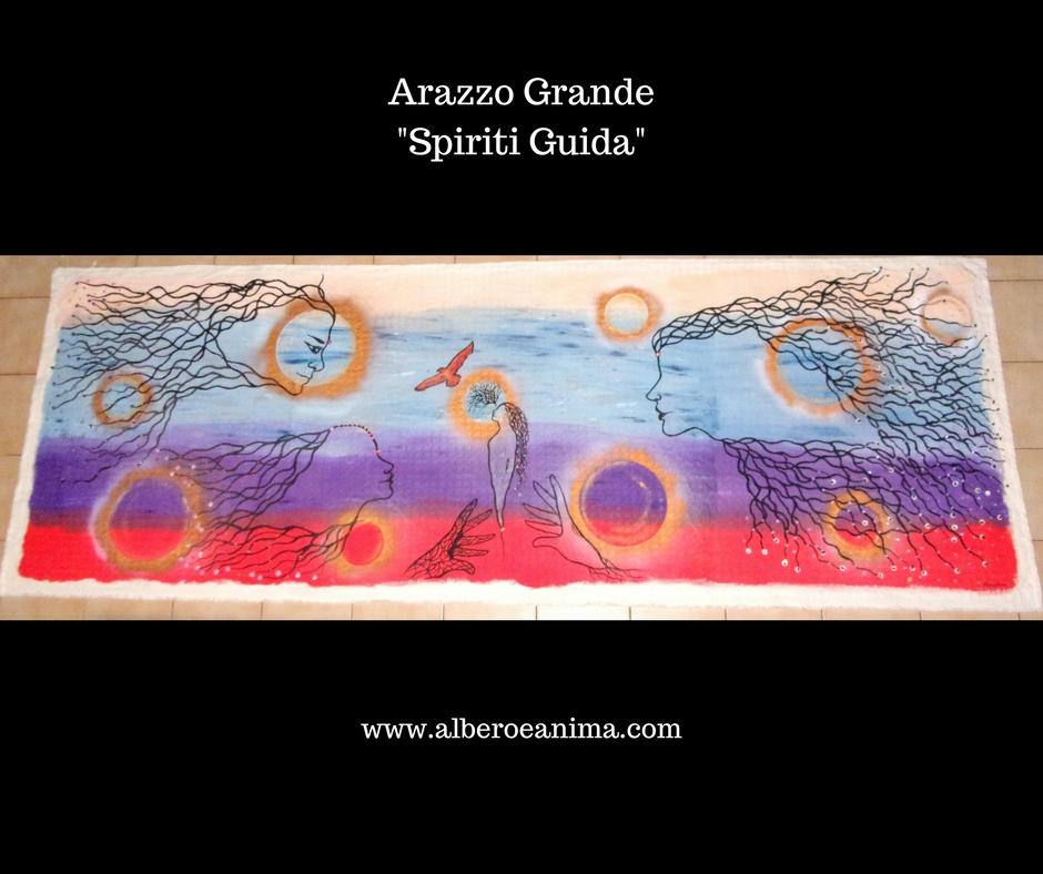 """Arazzo grande – gli """"Spiriti Guida"""""""