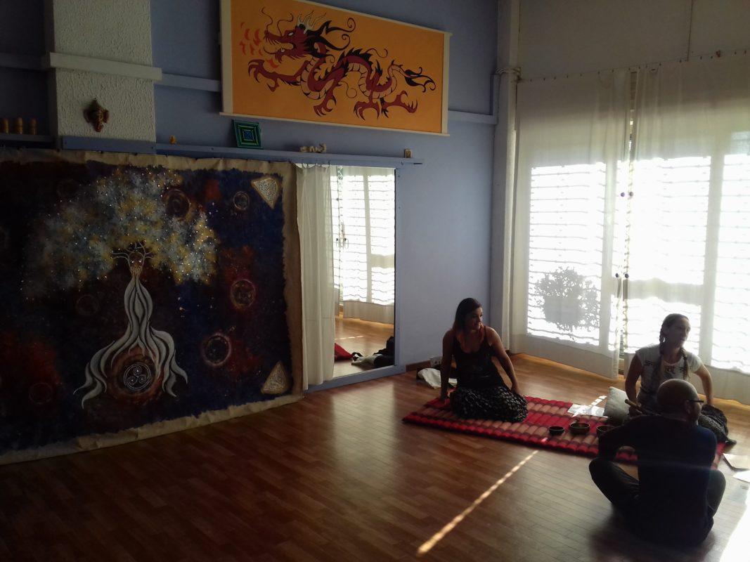 """Meditazione di novembre, con Arazzo """"Merlino"""" e campane tibetane"""