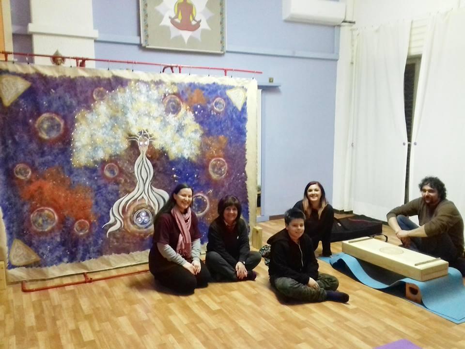 Prima meditazione con Tela Spirituale e Monocorde